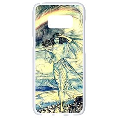 Vintage   To See The Sea Samsung Galaxy S8 White Seamless Case by WensdaiAddamns