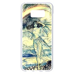 Vintage   To See The Sea Samsung Galaxy S8 Plus White Seamless Case by WensdaiAddamns
