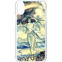 Vintage   To See The Sea Apple Iphone X Seamless Case (white) by WensdaiAddamns