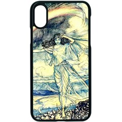 Vintage   To See The Sea Apple Iphone Xs Seamless Case (black) by WensdaiAddamns
