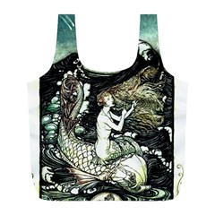 Vintage Aphrodite Full Print Recycle Bag (l) by WensdaiAmbrose
