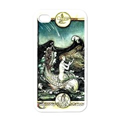 Vintage Aphrodite Apple Iphone 4 Case (white) by WensdaiAmbrose