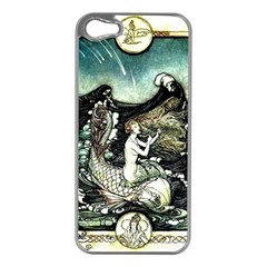 Vintage Aphrodite Apple Iphone 5 Case (silver) by WensdaiAmbrose