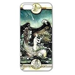 Vintage Aphrodite Apple Seamless Iphone 5 Case (clear) by WensdaiAddamns