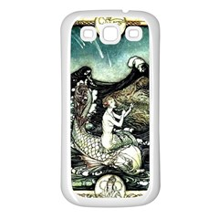 Vintage Aphrodite Samsung Galaxy S3 Back Case (white) by WensdaiAddamns