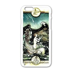 Vintage Aphrodite Apple Iphone 6/6s White Enamel Case by WensdaiAddamns