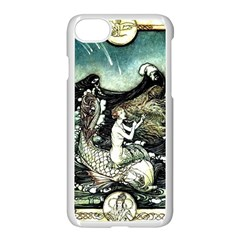 Vintage Aphrodite Apple Iphone 7 Seamless Case (white) by WensdaiAddamns