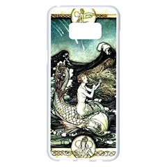 Vintage Aphrodite Samsung Galaxy S8 Plus White Seamless Case by WensdaiAddamns