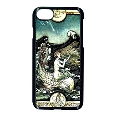 Vintage Aphrodite Apple Iphone 8 Seamless Case (black) by WensdaiAddamns