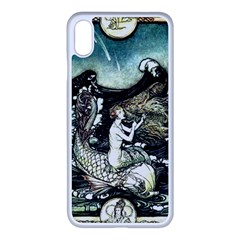 Vintage Aphrodite Apple Iphone Xs Max Seamless Case (white) by WensdaiAddamns