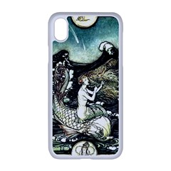 Vintage Aphrodite Apple Iphone Xr Seamless Case (white) by WensdaiAmbrose