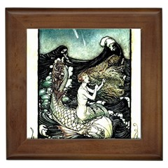 Vintage Aphrodite Framed Tiles by WensdaiAmbrose