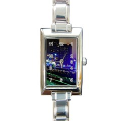 Columbus Commons Rectangle Italian Charm Watch