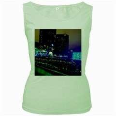 Columbus Commons Women s Green Tank Top