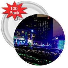 Columbus Commons 3  Buttons (100 Pack)