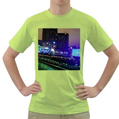 Columbus Commons Green T Shirt