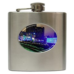 Columbus Commons Hip Flask (6 Oz)