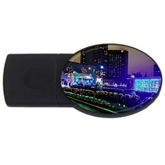 Columbus Commons Usb Flash Drive Oval (2 Gb)
