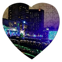 Columbus Commons Jigsaw Puzzle (heart)