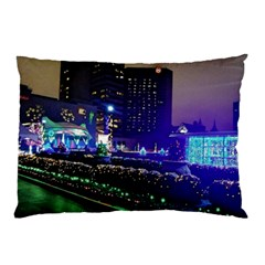 Columbus Commons Pillow Case (two Sides)