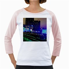 Columbus Commons Girly Raglan