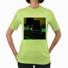 Columbus Commons Women s Green T Shirt