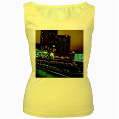 Columbus Commons Women s Yellow Tank Top