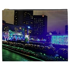 Columbus Commons Cosmetic Bag (xxxl) by Riverwoman