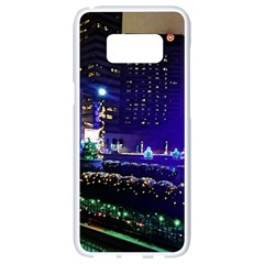 Columbus Commons Samsung Galaxy S8 White Seamless Case
