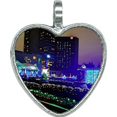 Columbus Commons Heart Necklace