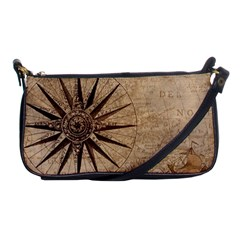 Vintage Compass Shoulder Clutch Bag by WensdaiAddamns