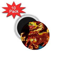 Dragon Lights 1 75  Magnets (10 Pack)