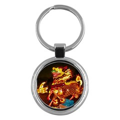 Dragon Lights Key Chains (round)