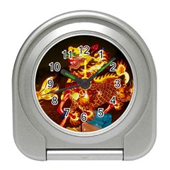 Dragon Lights Travel Alarm Clock