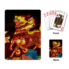 Dragon Lights Playing Cards Single Design