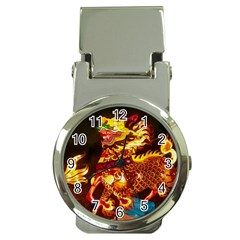 Dragon Lights Money Clip Watches
