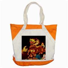 Dragon Lights Accent Tote Bag