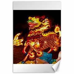 Dragon Lights Canvas 24  X 36