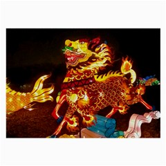 Dragon Lights Large Glasses Cloth