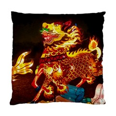 Dragon Lights Standard Cushion Case (one Side)