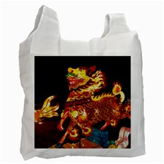 Dragon Lights Recycle Bag (two Side)