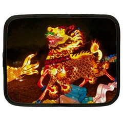 Dragon Lights Netbook Case (xl)