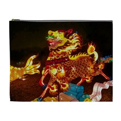Dragon Lights Cosmetic Bag (xl)
