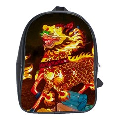 Dragon Lights School Bag (large)