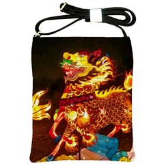 Dragon Lights Shoulder Sling Bag