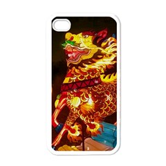Dragon Lights Apple Iphone 4 Case (white)