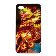 Dragon Lights Apple Iphone 4/4s Seamless Case (black) by Riverwoman