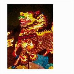Dragon Lights Large Garden Flag (two Sides)