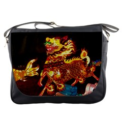Dragon Lights Messenger Bag