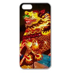Dragon Lights Apple Seamless Iphone 5 Case (clear)